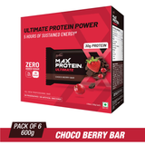 Ritebite Max Protein Ultimate Choco Berry Bars (100 Gm X 6)