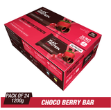 Ritebite Max Protein Daily Choco Berry Bars (50 Gm X 24)