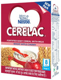 Cerelac Stage 2 Wheat Apple Cherry Powder