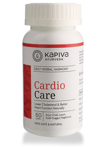 Kapiva Ayurveda Cardicare 60's Capsule For Heart Problems & Reduce Cholesterol