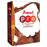 Amul Pro Whey Protein - Malt Beverage With Dha Chocolate, 500 Gm (Carton)