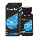 Nutree Pure Cod Liver Fish Oil 60 Softgels
