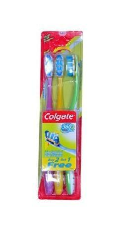Colgate 360 SoftTooth Brush (Buy 2 Get 1)