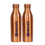 Medlife Copper Water Bottle 1L - (Pack of 2)