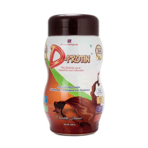 D Protin Chocolate Powder 500 Gm