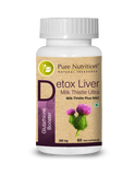 Pure Nutrition Detox Liver Milk Thistle Ultra 580 Mg Capsule 60