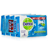 Dettol Cool Soap(125Gm X 4)