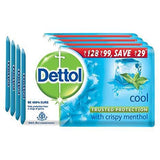 Dettol Cool Soap (75Gm X 4)