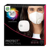 Dettol Siti Shield Protect+ Micro Fan For N95 Anti Pollution Smart Mask