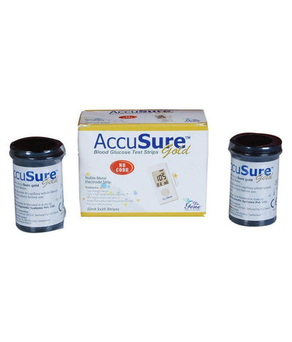 Dr. Gene Accusure Gold Blood Glucose 50S Strips