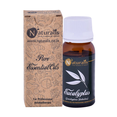 Naturalis Eucalyptus Essential Oil (30 ML) - Treats Respiratory Problems, Fever, Removes Mental Exhaustion & Muscle Pain