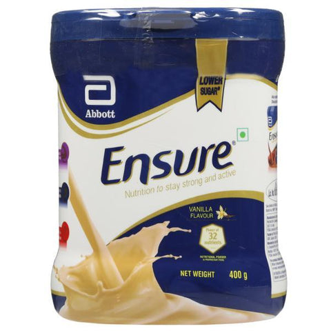 Ensure Diabetes Care (Vanilla) - 400 GM - Jar