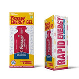 Fast&Up Energy Gel - Strawberry & Banana - (5 X 30 Gm)