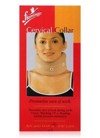 Flamingo Cervical Collar (Neck Brace) For Traumatic Head Or Neck Injuries