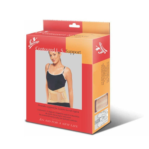 Flamingo Contoured Ls Support - Allay Low Back Pain Syndrome