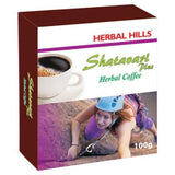 Herbal Hills Shatavari Plus Coffee Powder - Relieves Symptoms Of Pms (Premenstrual Syndrome), Premenopausal & Menopausal Syndrome