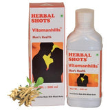 Herbal Hills Vitomanhills Shots Syrup For Men'S Health