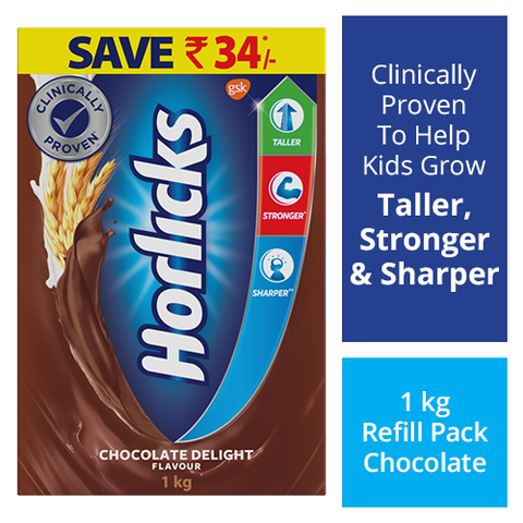 Horlicks - Health & Nutrition Drink (Chocolate) (Refill)