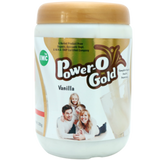 IMC Power O Gold Soy Protein Vanilla Powder - Relieves Blood Problem, Acidity & Gastric Problems, Keeps Eyes, Heart& Mind Healthy