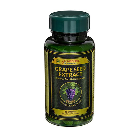 Medlife Essentials Grape Seed Extract 60 Capsule