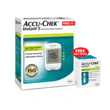 New Accu-Chek Instant S Blood Glucose Meter with 10 Test Strip