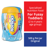 Junior Horlicks Stage 1 (2-4 Years) Health & Nutrition Drink Pet Jar (Original) 500GM