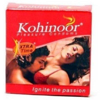 Kohinoor Xtra Time 10 Condoms - Pack Of 3