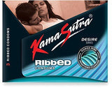 Kama Sutra Ribbed 3's Condoms