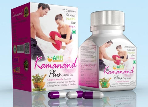 ARR Kamanand Plus 20 Capsule - Sex Booster For Male