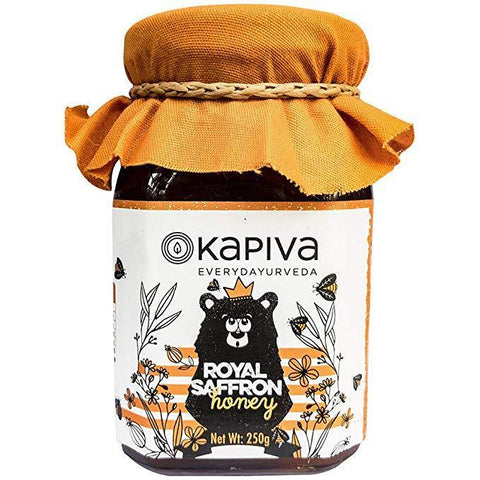 Kapiva Ayurveda Royal Saffron Honey - 250 GM
