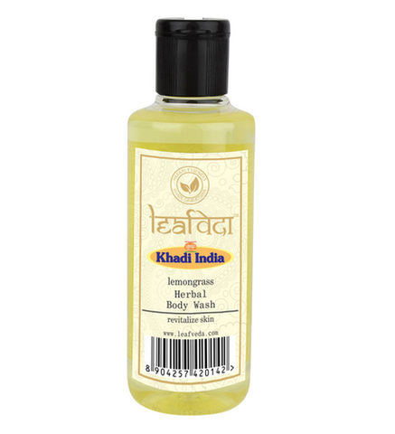 Khadi Leafveda Lemongrass Body Wash 210 ML