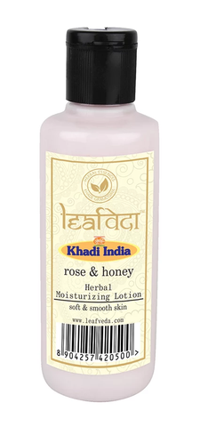 Khadi Leafveda Rose And Honey Moisturising Lotion 210 ML