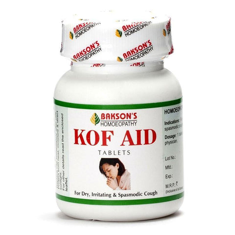 Bakson's KOF AID 200 Tablets For Cough