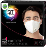 Dettol Siti Shield Protect+ N95 Anti-Pollution Smart Mask (Unisex)