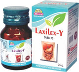 Wheezal Laxilex-Y 550 Mg Tablet For Constipation, Indigestion, Abdominal Colic, Congestion