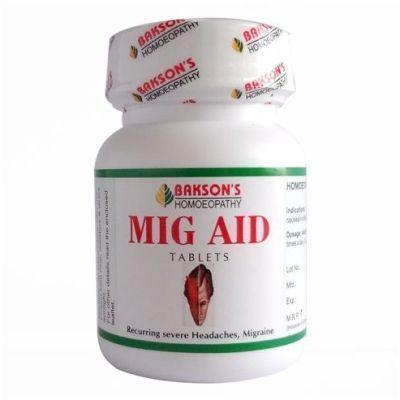 Bakson's MIG AID 75 Tablets (Pack Of 2)