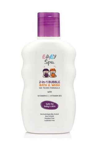 Modicare Baby Spa 2 In 1 Bubble Bath Wash No Tears 200 ML