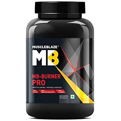 Muscleblaze Burner Pro Thermogenic Fat Burner, Unflavoured 90 Capsule