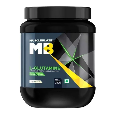 Muscleblaze L-Glutamine, Unflavoured 250 GM