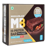 MuscleBlaze Hi-Protein Bar Choco Delight 6 Pieces 600 gm