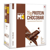 MuscleBlaze ChocoBar Rich Chocolate 6 Pieces 360 gm