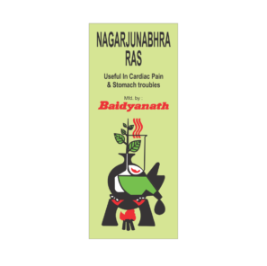 Baidyanath Nagarjunabhra Ras For Heart Diseases & Stomach Problems