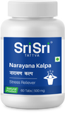 Sri Sri Tattva Narayana Kalpa 60 Tablet For Stress, Anxiety & Insomnia