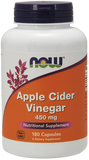Now Foods Apple Cider Vinegar 450 Mg Capsule 180