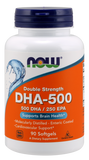 Now Foods Dha-500, Double Strength 90's Softgel