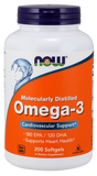 Now Foods Foods Omega-3 Cardiovascular Support - 200 Softgels