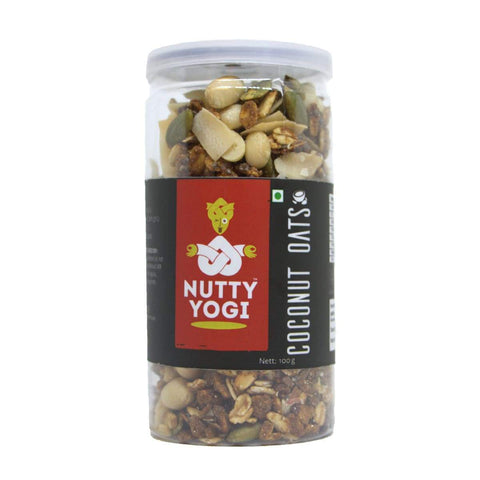 Nutty Yogi Coconut Oats 100 GM - Pack Of 2