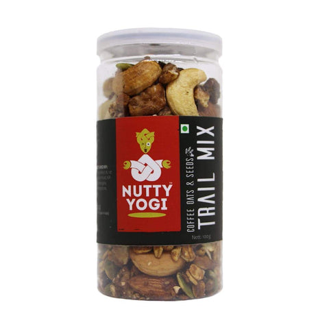 Nutty Yogi Coffee Oats And Seeds Trail Mix 100 GM - Pack Of 2