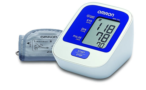 Omron HEM - 7124 Blood Pressure Monitor Device