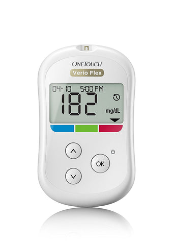 One Touch Glucometer Verio Flex With 10 Strips